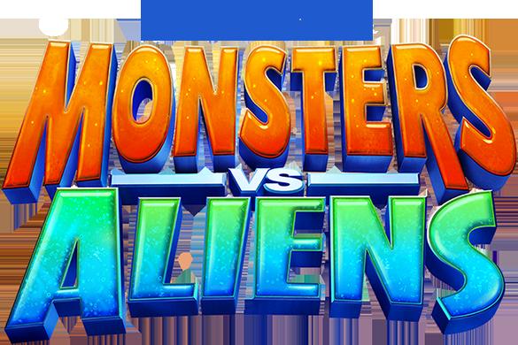 Monsters vs Aliens intertitle