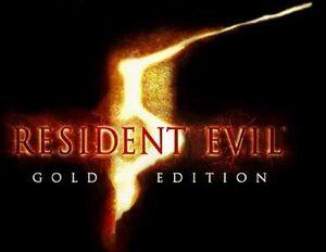 Resident evil5 gold edition logo