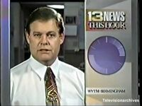 WVTM-TV's Alabama's 13 News This Hour video from December 1991
