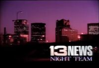 Alabama's 13 News Night Team promo 1992