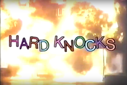 Hard Knocks 1987 Title Card