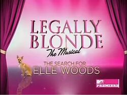Legally Blonde the Musical The Search for Elle Woods