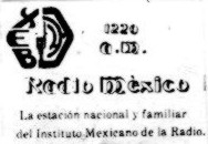 Radio México XEB-AM 1983