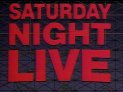 Saturday Night Live Video Open From October 6, 1984