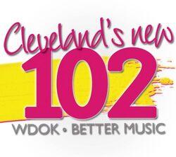 WDOK Cleveland's New 102