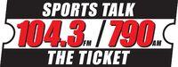 WAXY 790 AM 104.3 FM The Ticket
