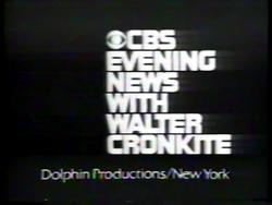 CBS Evening News 1970s LOGO