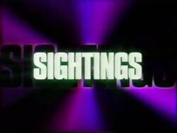 Sightings (1995)