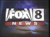 WJW FOX 8 News Logo 1997