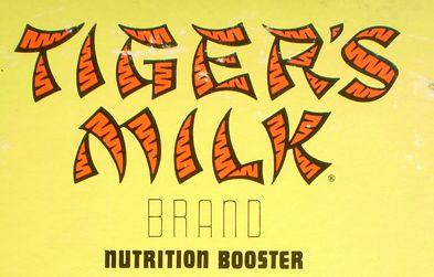 Tiger's Milk 1962 logo