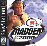 Madden NFL 2000 Coverart