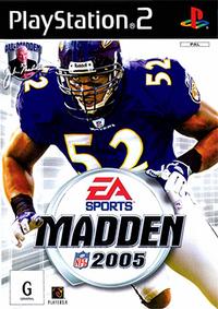 Madden NFL 2005 Coverart