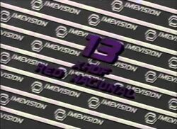 Imevision Canal 13 1986