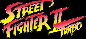 Street Fighter II Turbo logo SNES version