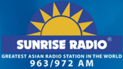 Sunrise Radio 963 972 2014