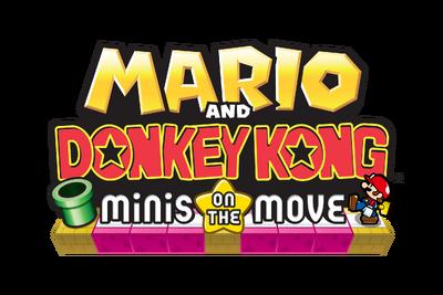 Mario and Donkey Kong - Minis on the Move Logo
