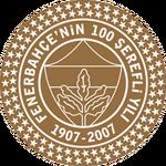 Fenerbahçe Spor Kulübü logo (100th anniversary)