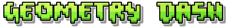 image geometry dash logopedia fandom powered by wikia. Black Bedroom Furniture Sets. Home Design Ideas
