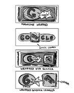Google Yps Magazine's 40th anniversary (Storyboards)