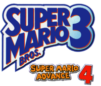 Super mario advance 4 pre release logo by ringostarr39-d5b3s0n