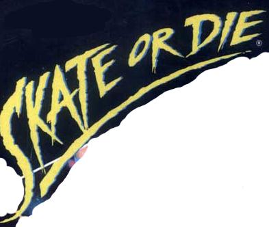 Skate or Die (NES) logo