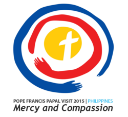 Papal Visit Philippines Pope Francis logo