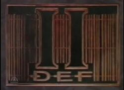 BBC2 DEF II 1990