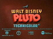 Pluto opening title card