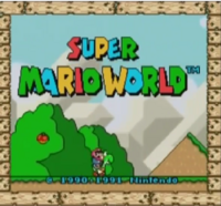 Super Mario World Nintendo