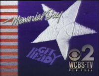 WCBS-TV's Channel 2 Memorial Day ID from 1990