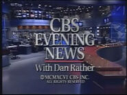 CBS Evening News Close 1996