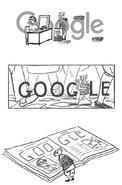 Google R. K. Laxman's 94th Birthday (Storyboards)