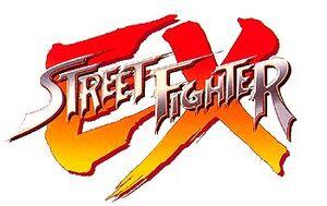 Street Fighter EX Logo 1 a
