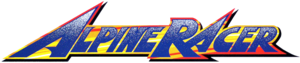 Alpine racer logo by ringostarr39-d6c1a22