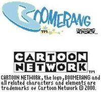 CN Interactive 2000-2001 with Boomerang logo