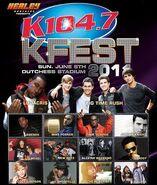 WSPK-FM's K104's K-Fest 2011 Promo For June 5, 2011