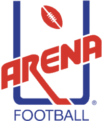 Arena Football logo (1987-2002)