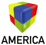America 2 logo