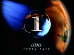 BBC 1 1991 South East