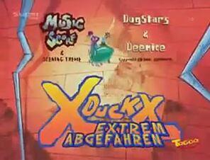 X Duck X logo 2001