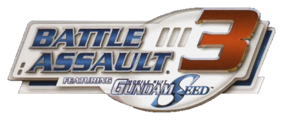 Battle Assault 3 Featuring Mobile Suit Gundam Seed Logo