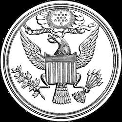 US Great Seal 1877 drawing
