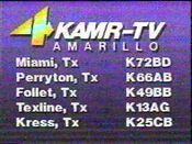 KAMR Early 1980s