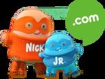 Nick Jr. Dot Com Plush Scaters