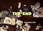 The End A Walt Disney Production (The Litterbug Variant)