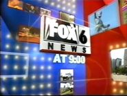 WBRC's FOX 6 News @ 9pm video opening from December 2006