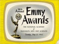 14th Primetime Emmy Awards poster