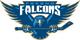 Fresno Falcons logo (2003-2008)