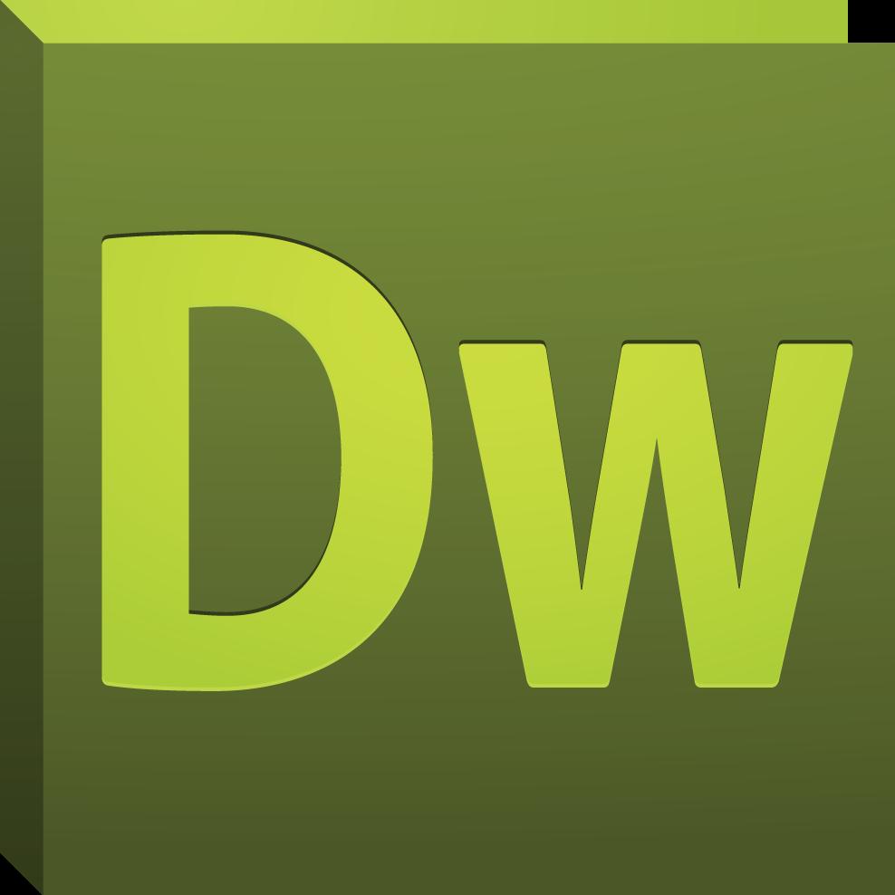 Resultado de imagen de dreamweaver logo
