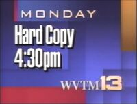 WVTM-TV Alabama's 13 Hard Copy promo 1992
